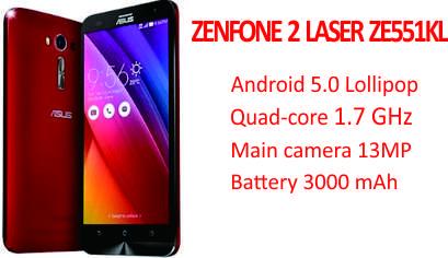Asus Zenfone 2 Laser Ze551kl Specs